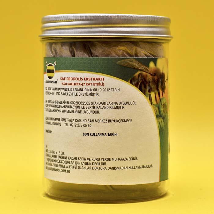 Saf Propolis Toz Ekstraktı %70 Saflıkta- (235 gr Paket)