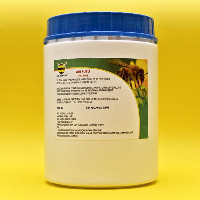 Saf Arı Sütü -Doğadaki Haliyle ~2,1 HDA -(1000 gr Paket)