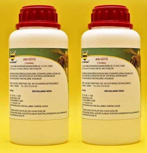 Saf Arı Sütü -Doğadaki Haliyle ~2,3 HDA - 470 gr.